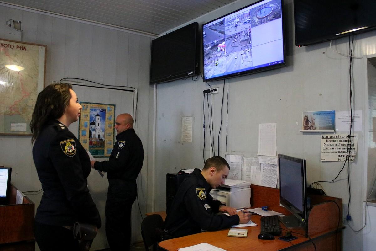 """Система видеонаблюдения """"Прозоре місто"""" очень помогает в работе полицейским"""