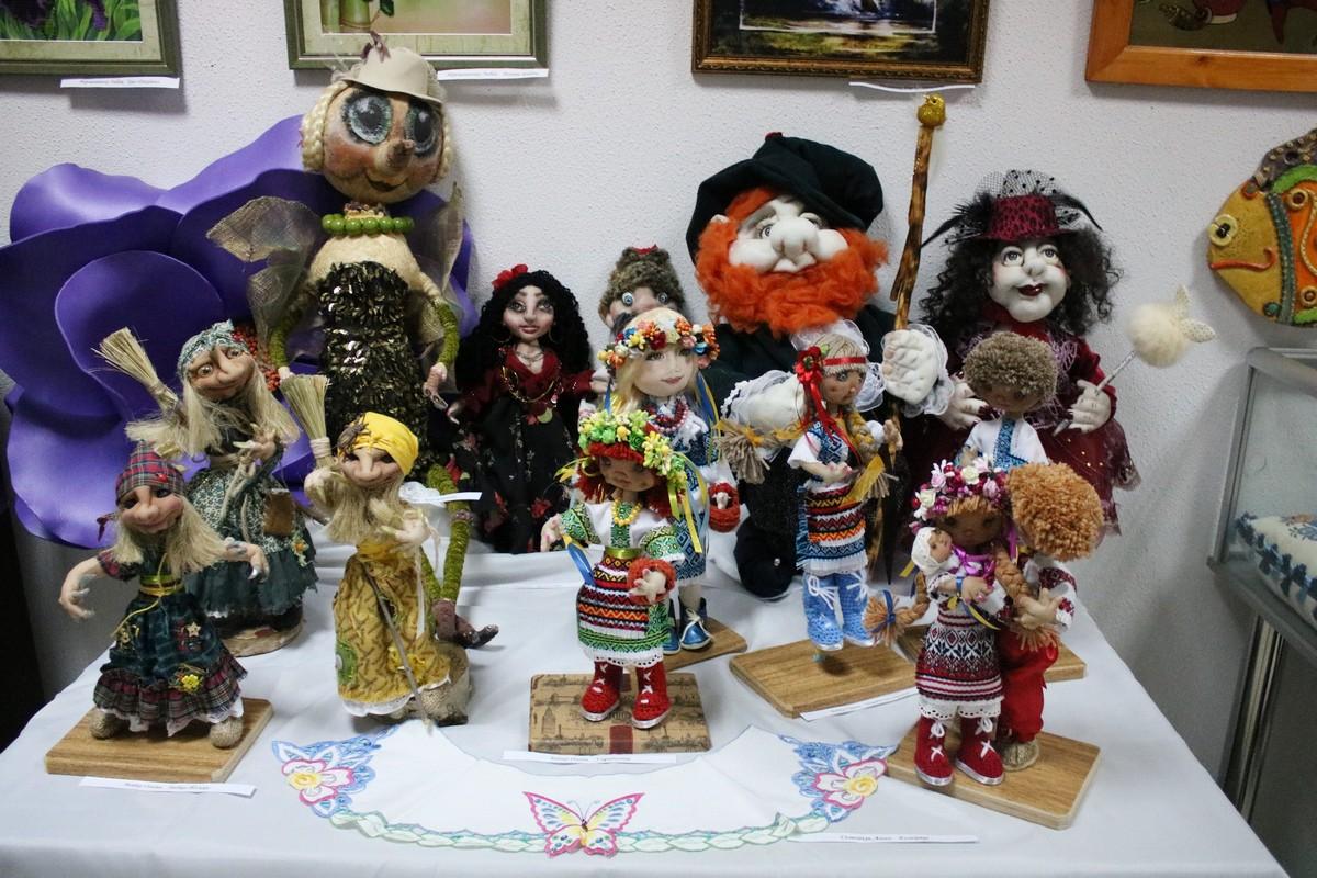 Куклы никопольских мастериц