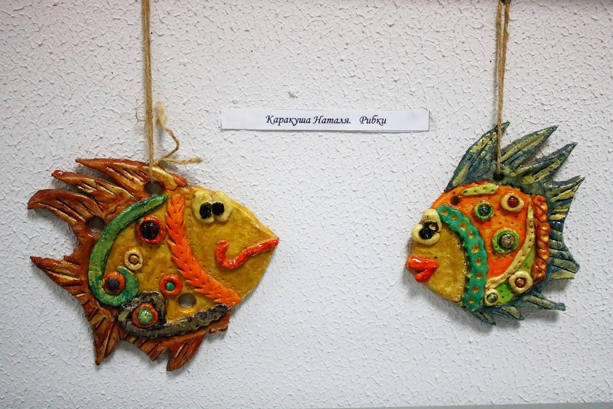Оранжевые рыбки