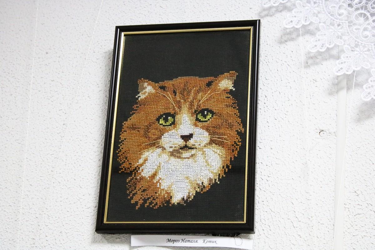 """Работа под названием """"Котик"""""""