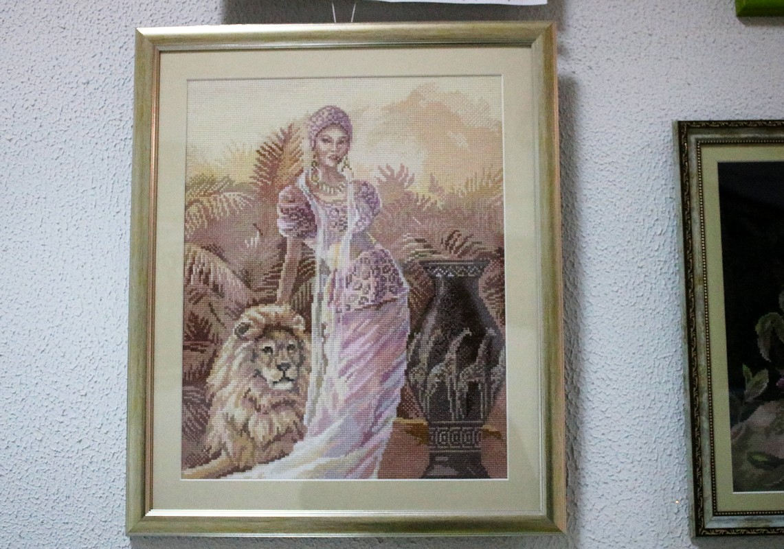 Укротительница льва