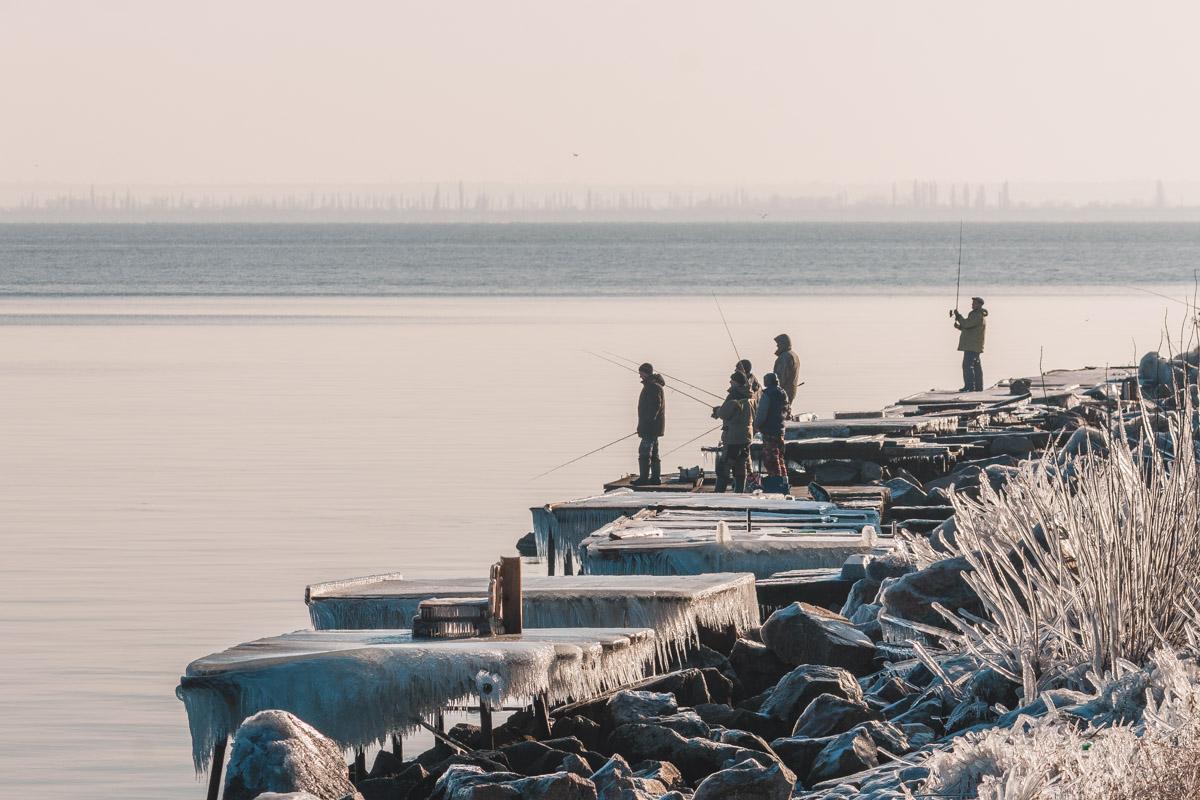 Город на берегу Каховского водохранилища
