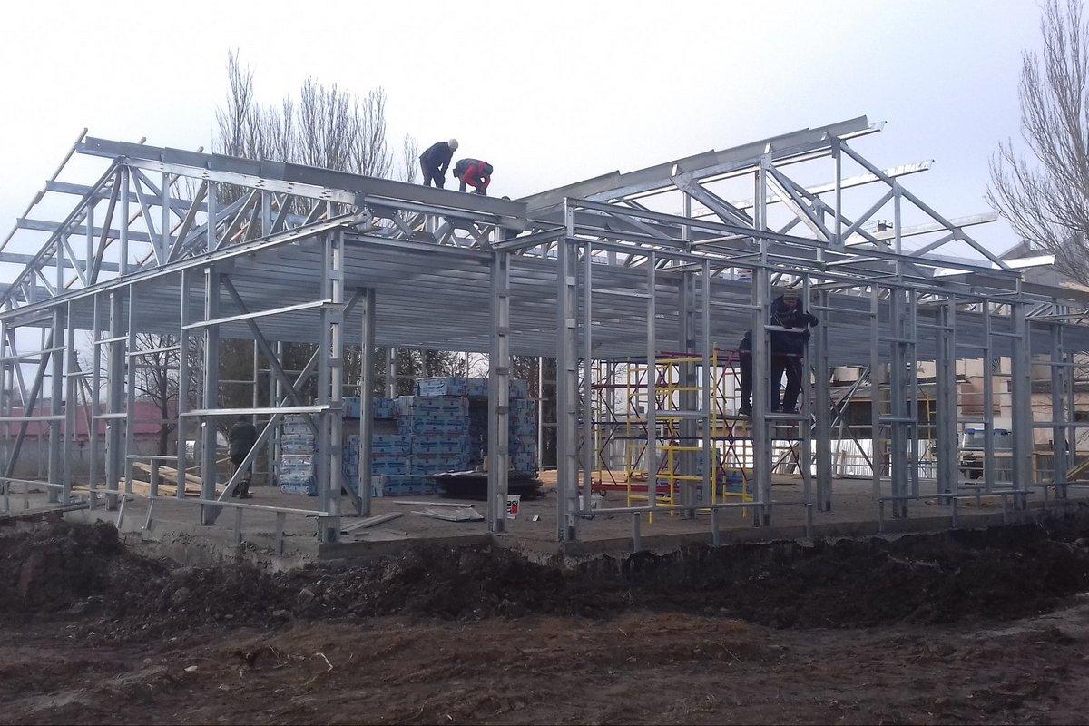 Строительство амбулатории в селе Приднепровское