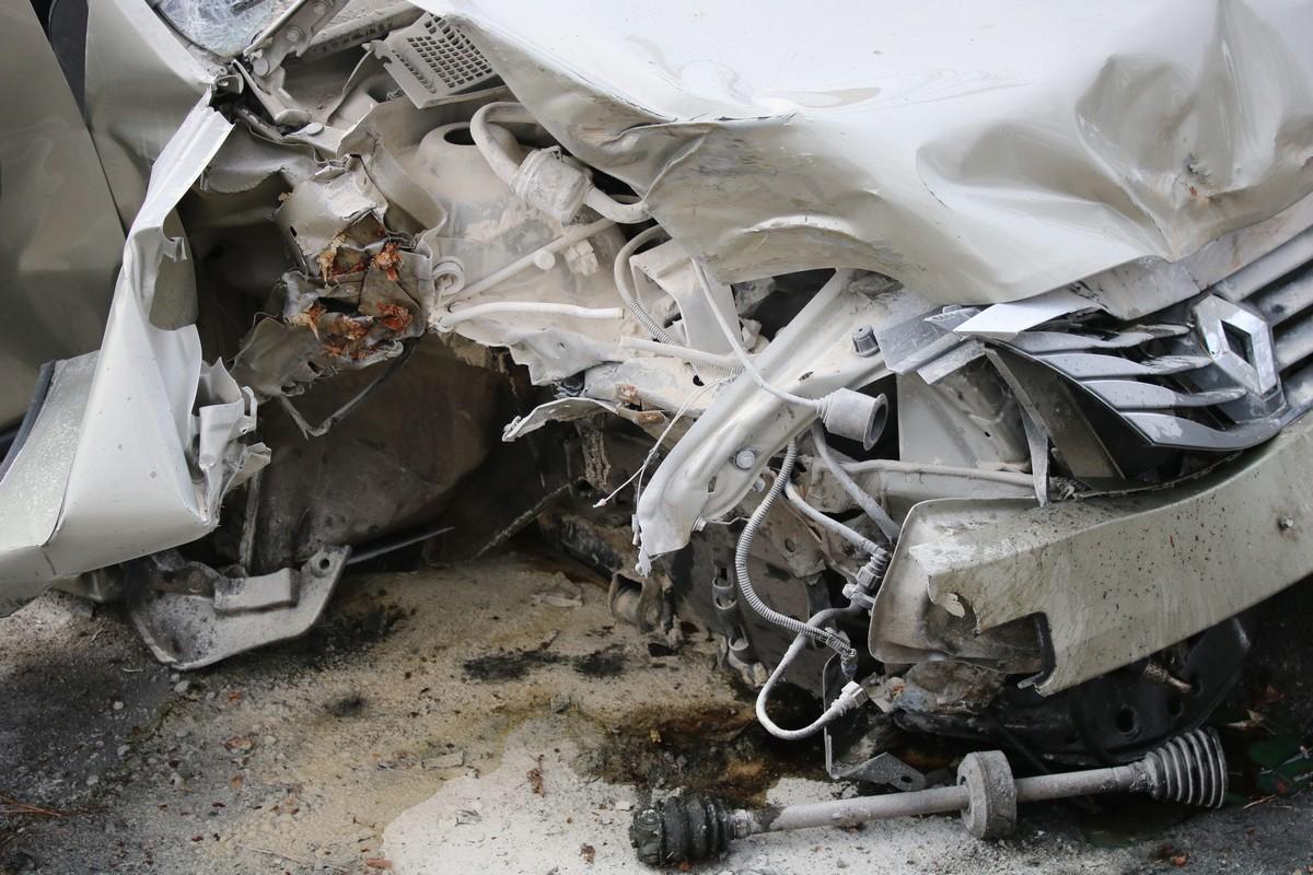 Водитель Renault Logan был трезв
