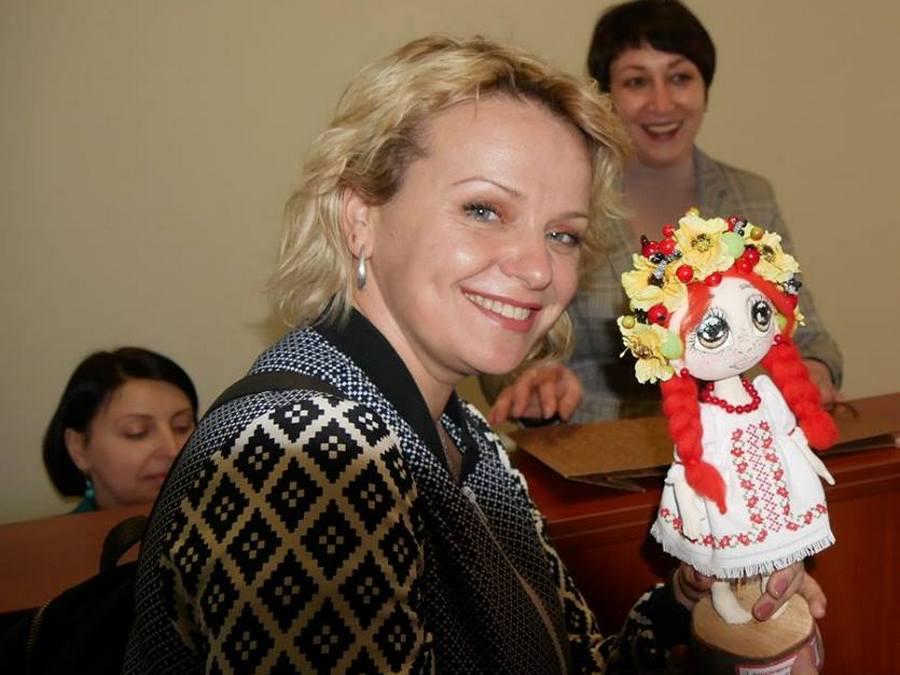 Ирма Витовская посетила Марганец