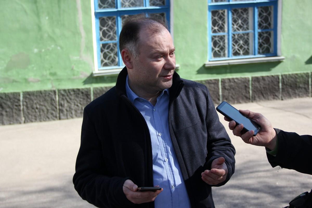 Мэр Никополя Андрей Фисак доволен явкой жителей Никополя на выборы-2019