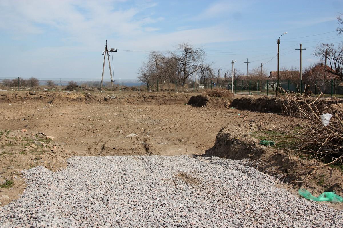 На этом месте будет основное строительство