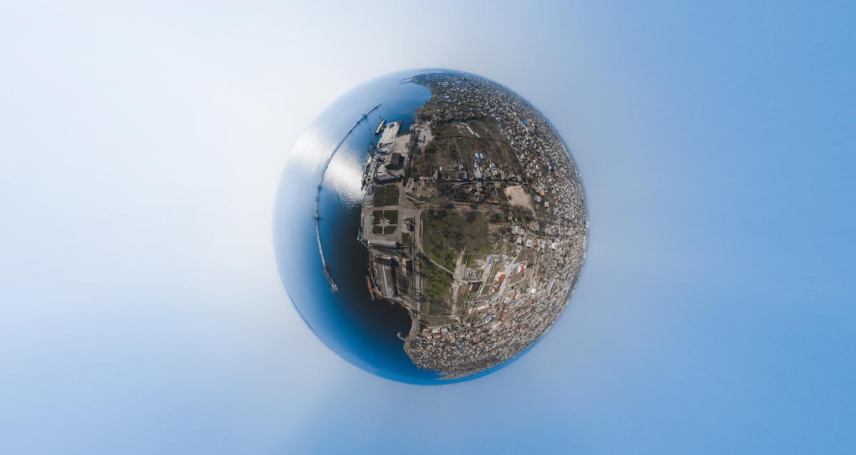 Город на уровне улиц не всегда привлекателен, но если посмотреть на него с высоты...