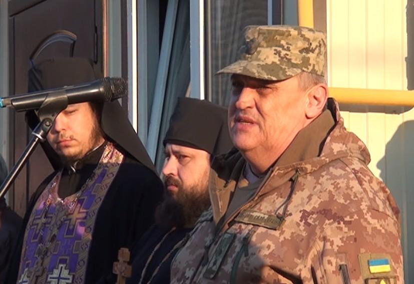 Военный комиссар Никополя Геннадий Тарасюк