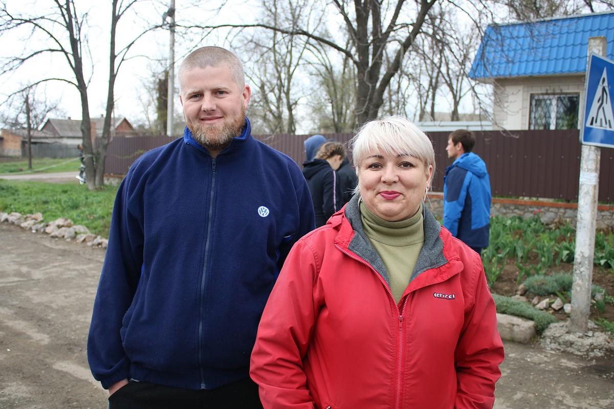 Неравнодушные жители села Чкалово