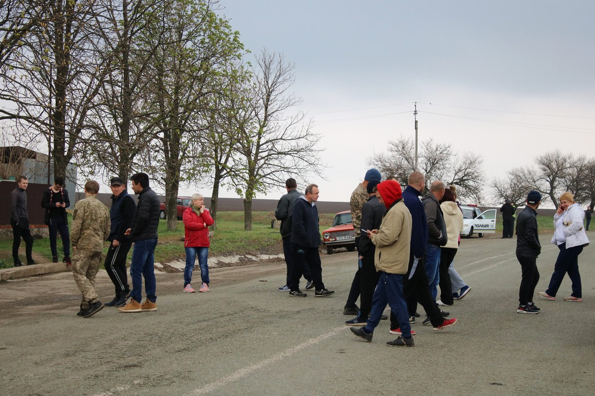 Жители села Чкалово настроены решительно
