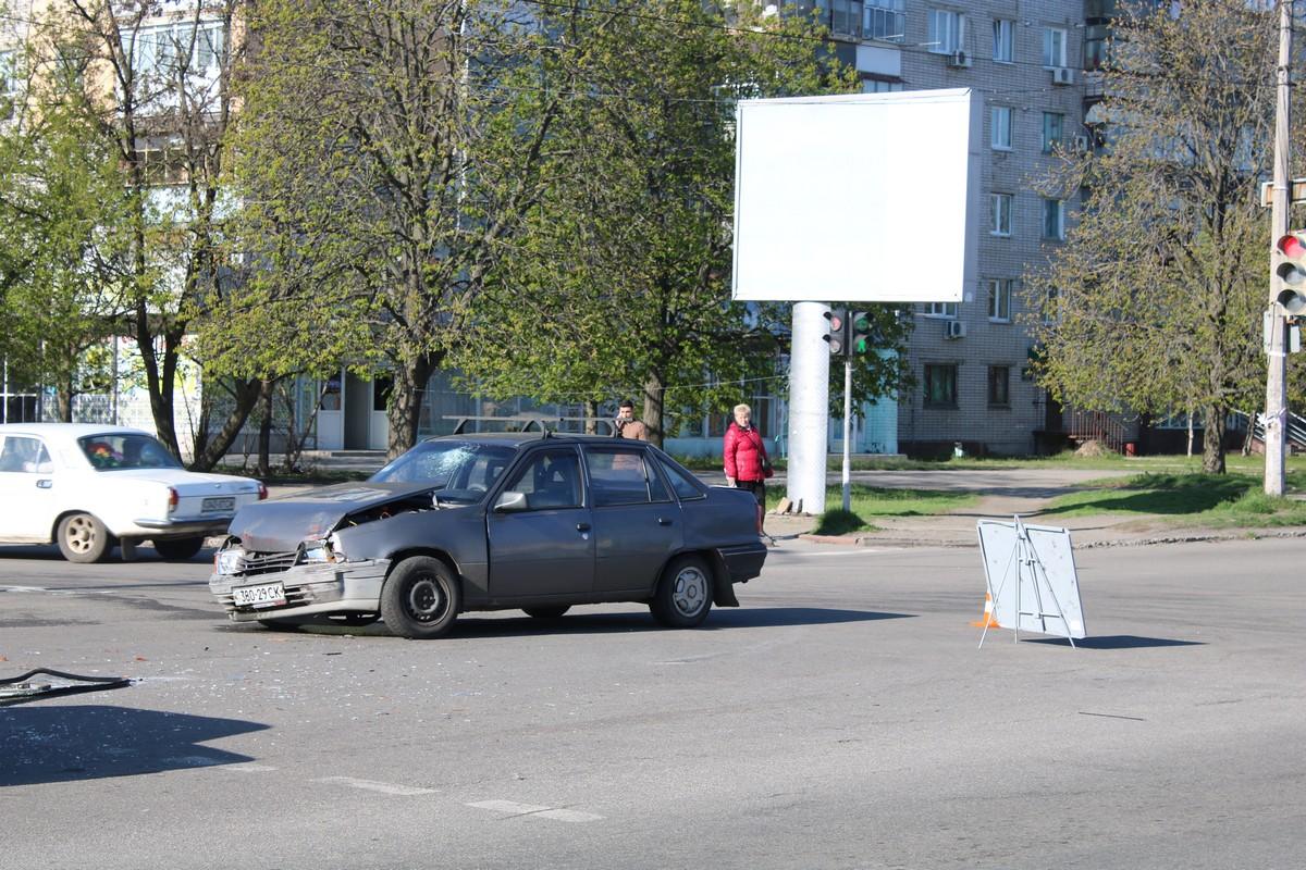 В машине находились два пассажира