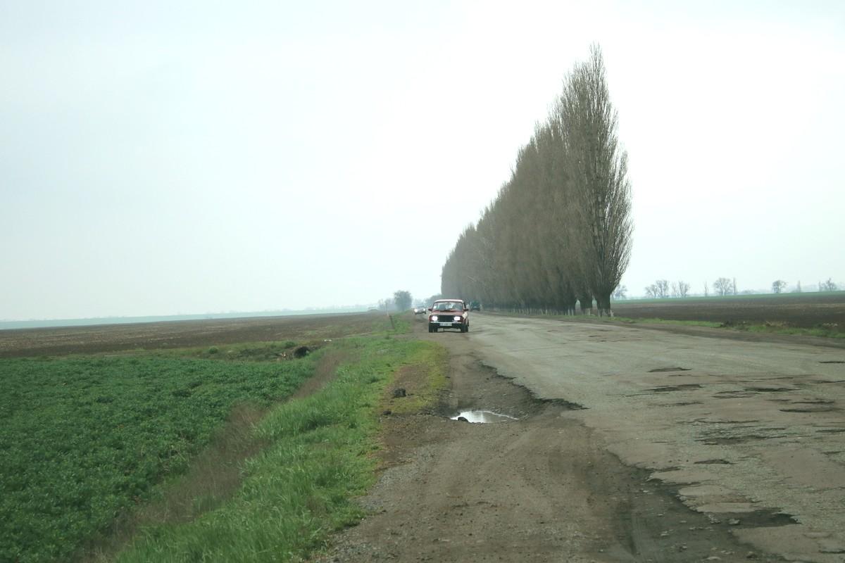 Дорога в село Чкалово