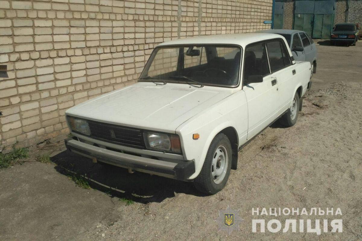 Автомобиль ВАЗ-2105 нашли правоохранители