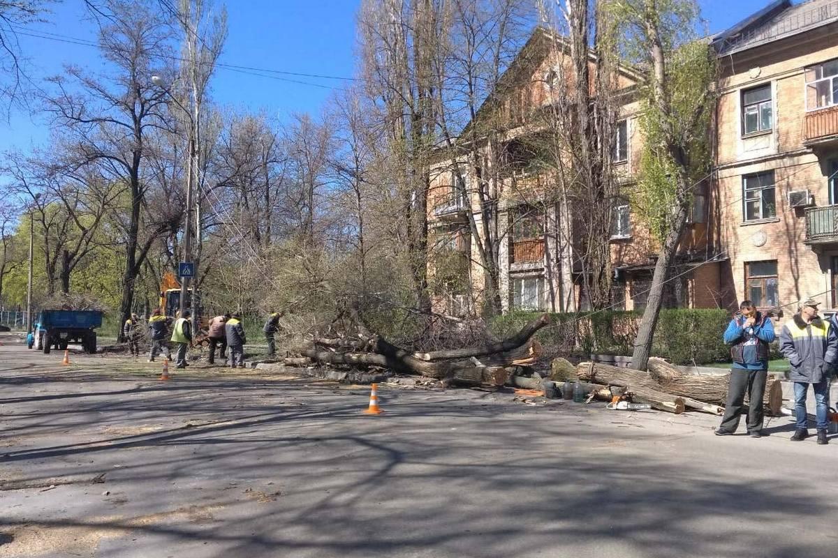 """На месте происшествия работает КП """"Горавтодор-1"""""""