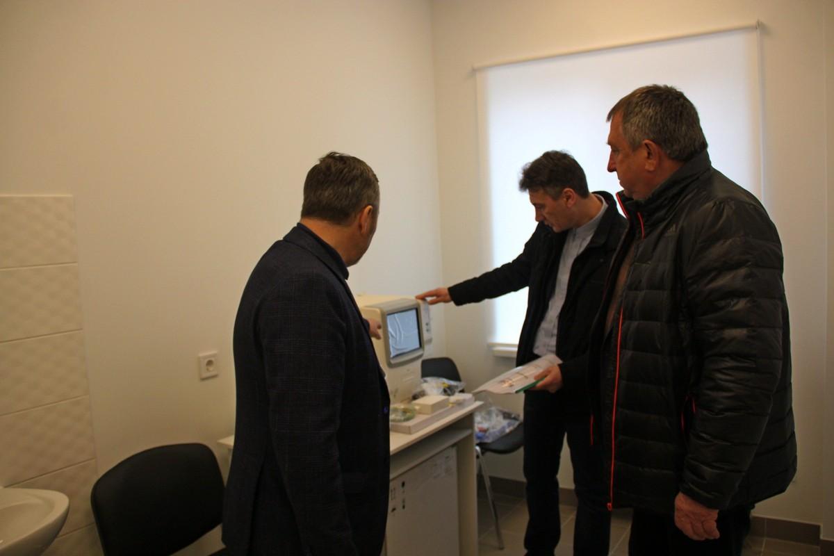 В амбулатории жители близлежащих сел смогут сдавать анализы