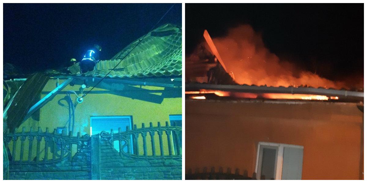 Пожар в Никополе на Воздвиженской