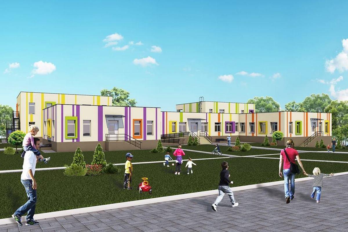 Так будет выглядеть детский сад в селе Чкалово после реконструкции