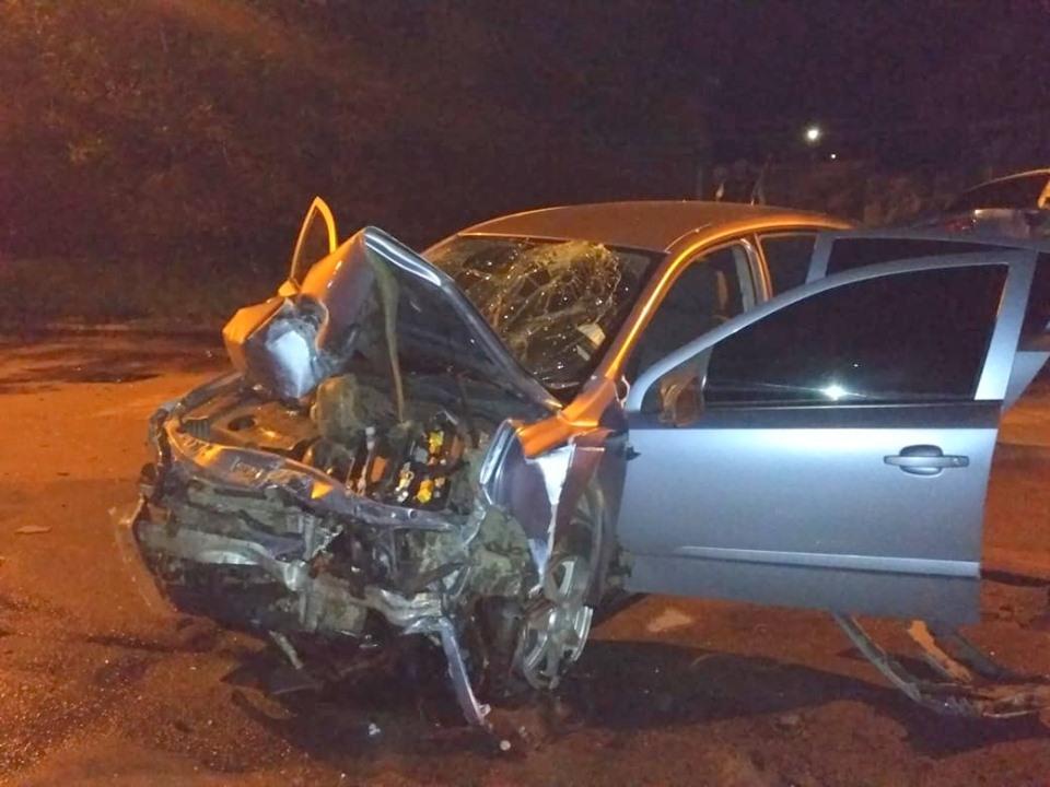 Водитель Opel Astra и его пассажиры получили травмы