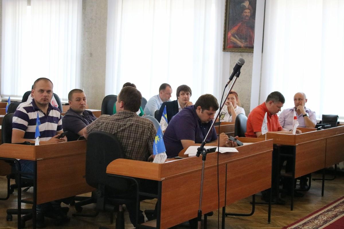 В Никополе депутаты не проголосовали за общественный совет