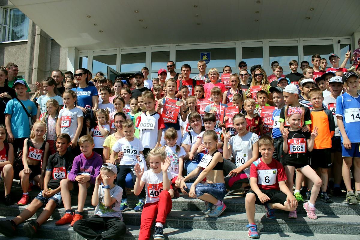 Фото всех участников марафона