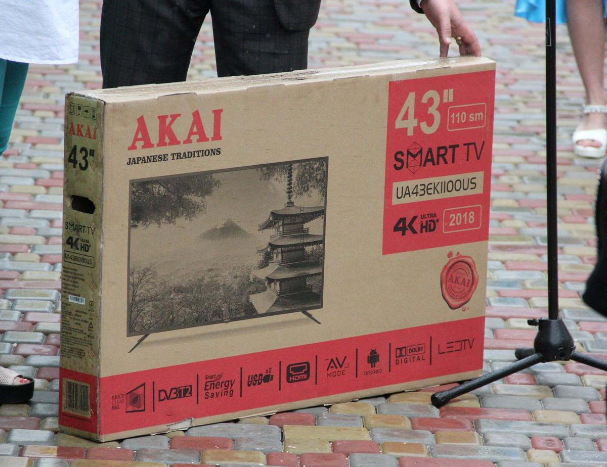 Неожиданный подарок - плазменный телевизор