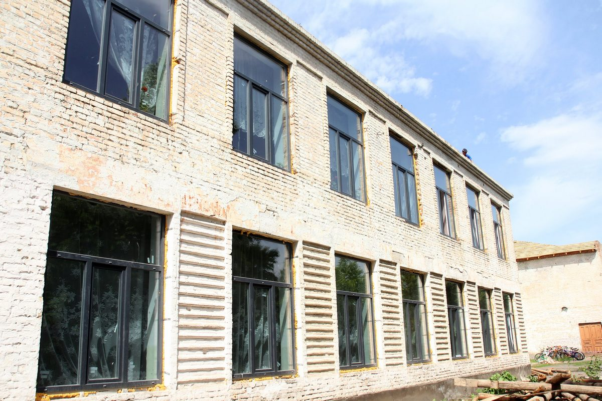 В Апостолово масштабно реконструируют школу