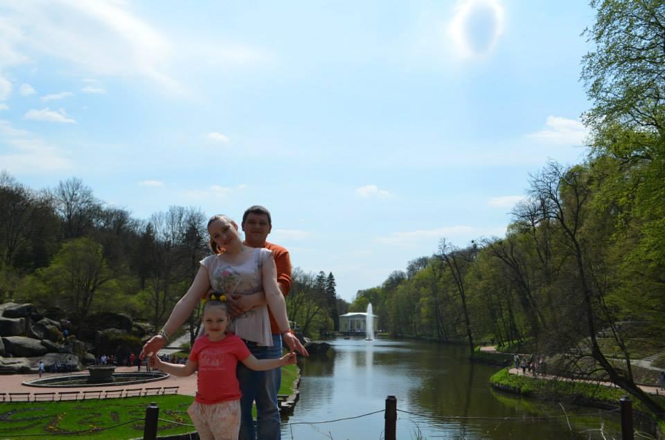 Людмила, Дмитрий и Софийка