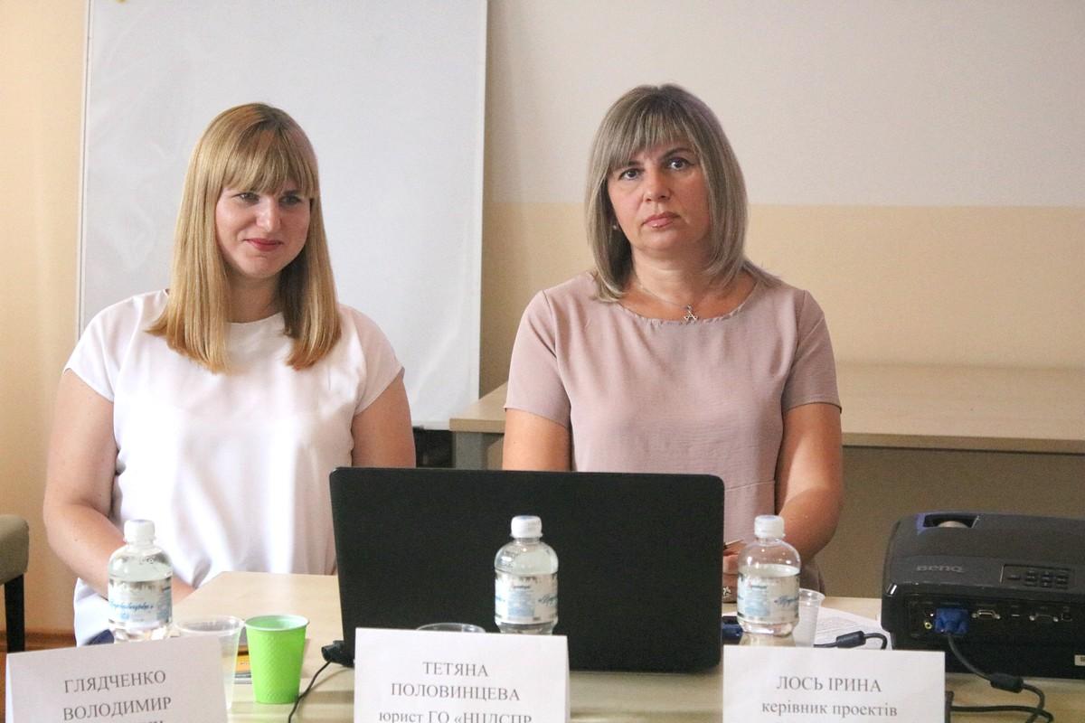 Правозащитники: Татьяна Половинцева и Ирина Лось