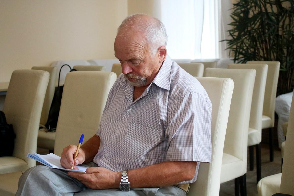 Редактор и журналист Владимир Глядченко