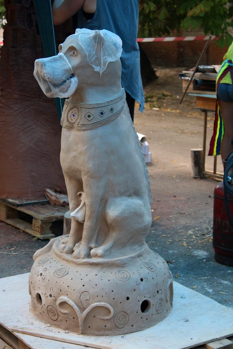 Скульпторы не ограничены в материале