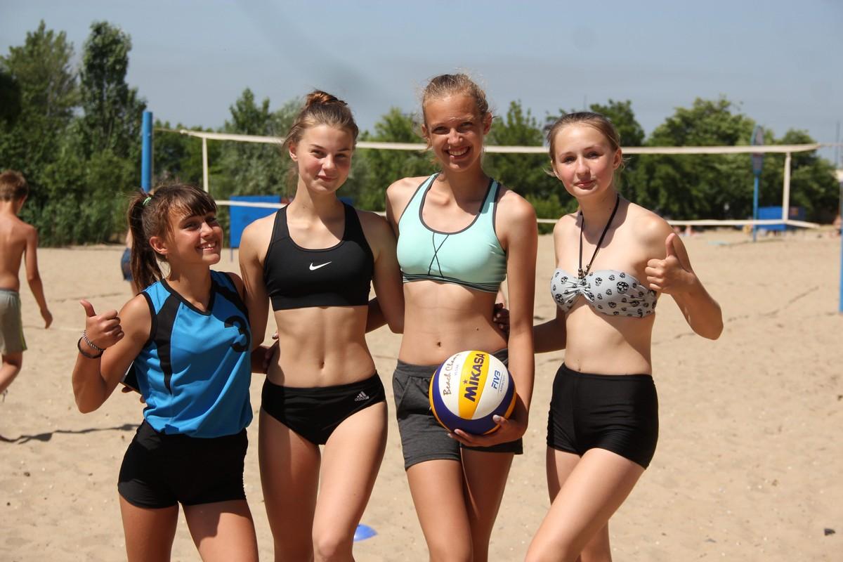 Красивые спортсменки Червоногригоровской ОТГ