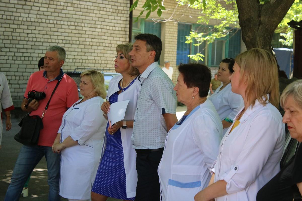 Важное событие для врачей и жителей района