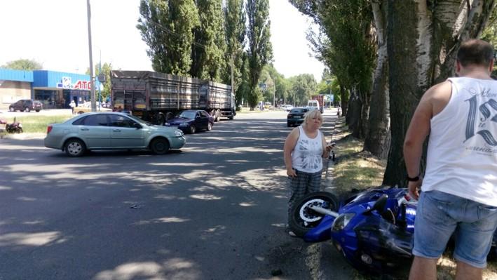 Водитель мотоцикла от полученных травм умер в больнице