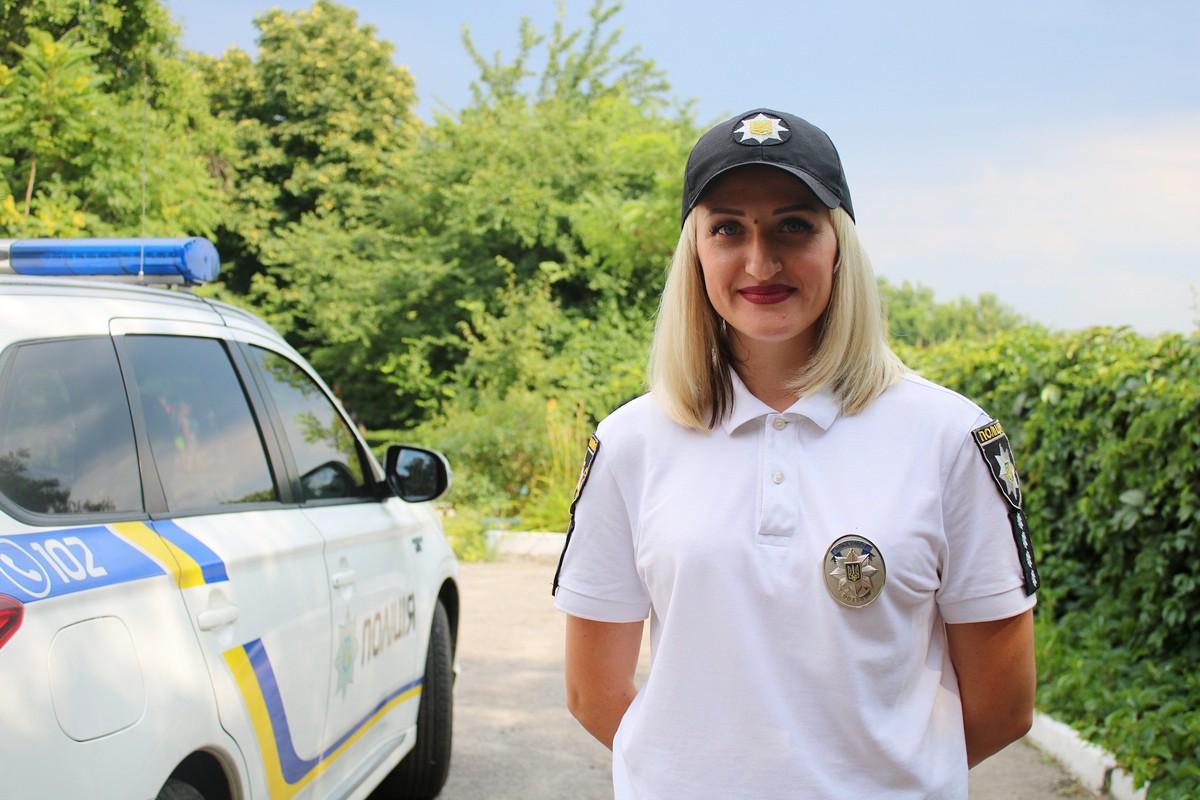 Ольга Чуланова - капитан полиции