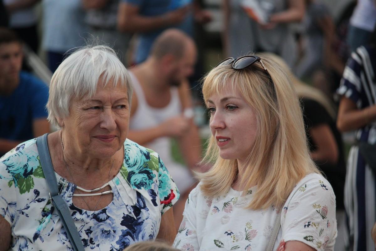 На концерт пришли люди разного возраста