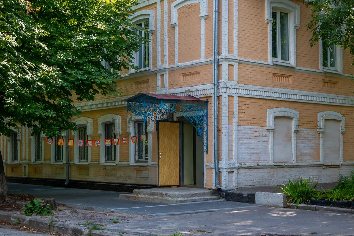 В здании на Запорожской находится библиотека