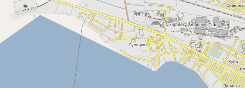 Село Сулицкое со временем стало районом Никополя