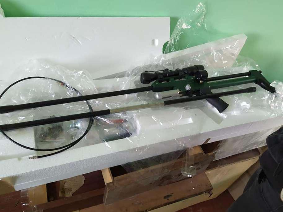 В Никополе приюту для животных купили телескопический шприцемет для отлова бездомных собак