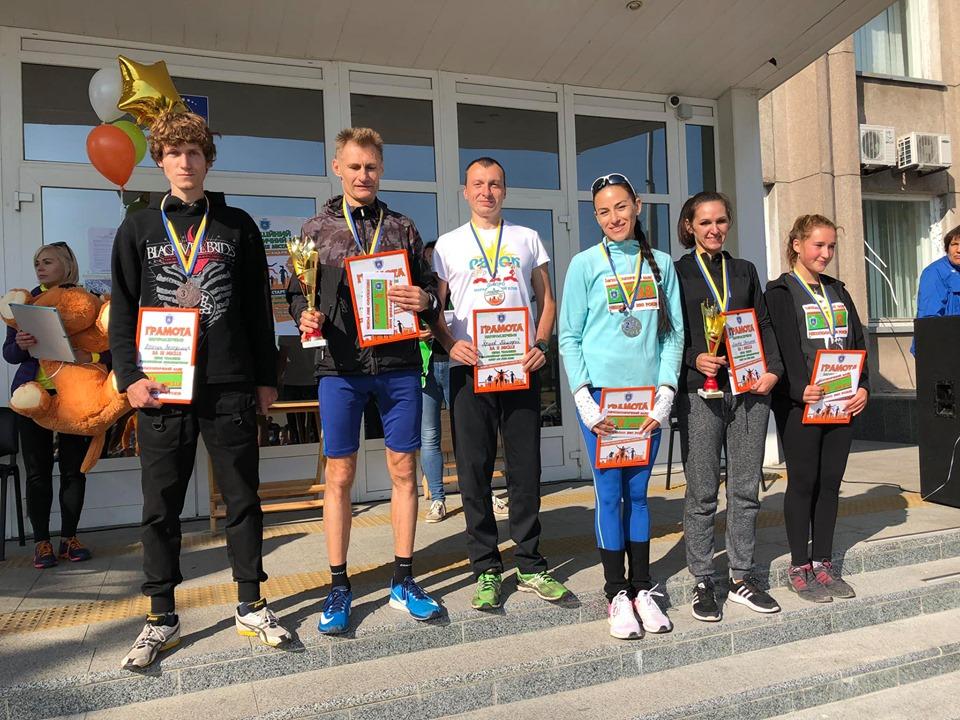 Победители ежегодного марафона в Никополе