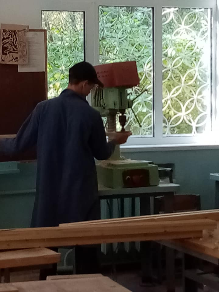 Работа на станке