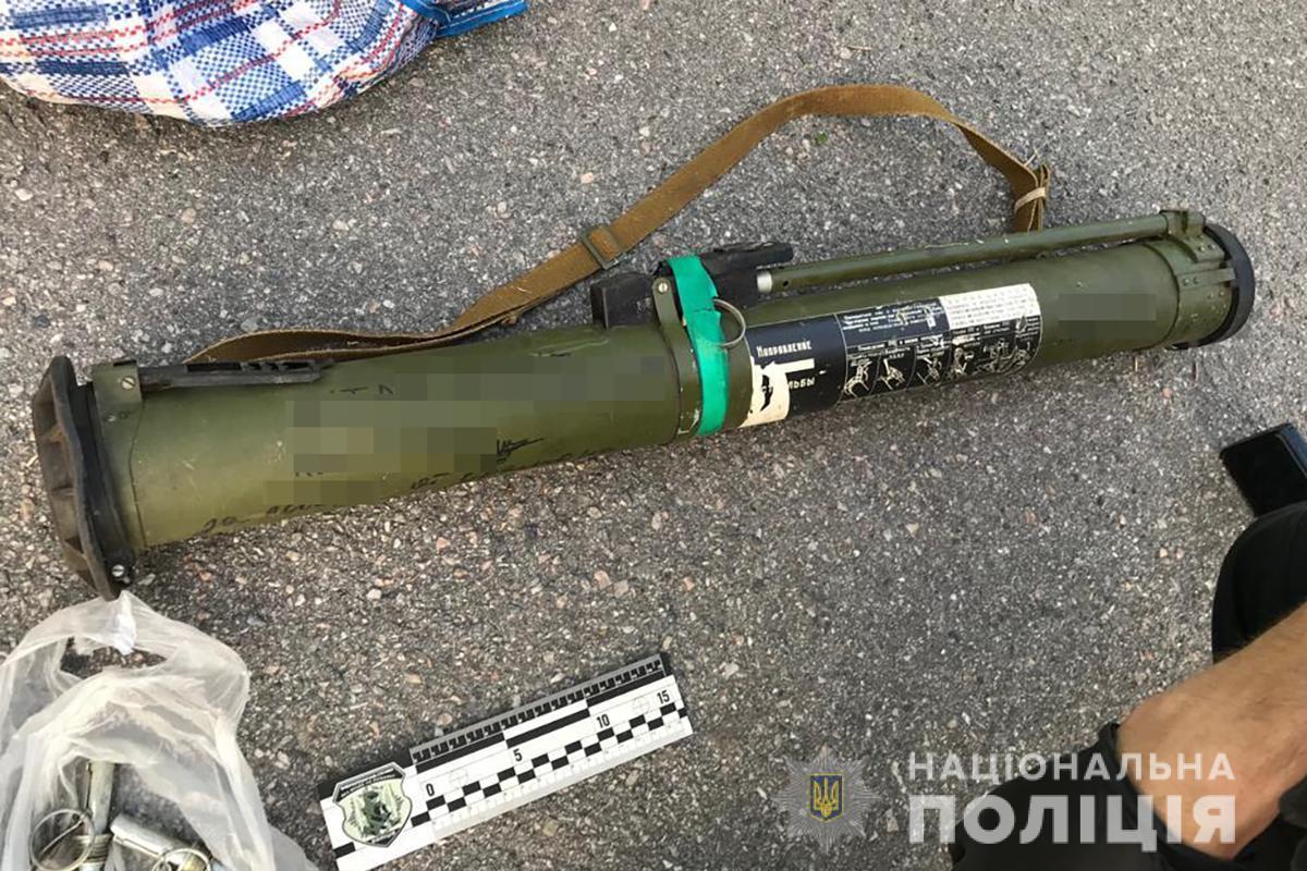 В Энергодаре 28-летний мужчина продавал гранаты и патроны