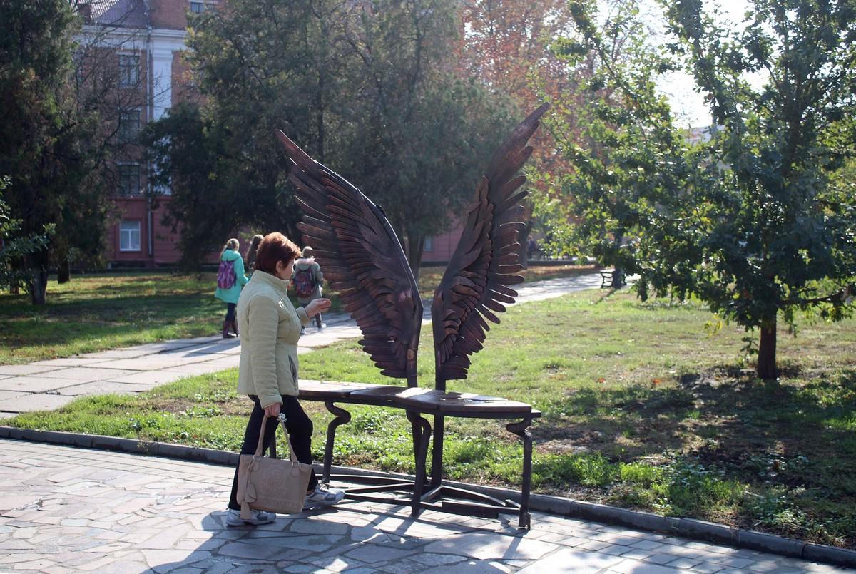 Всем интересно, из чего сделаны крылья