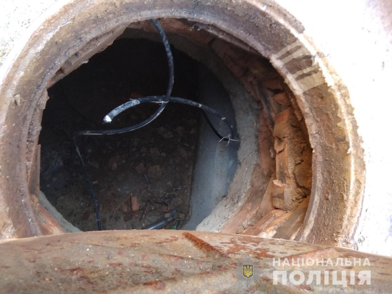 В Никополе 24-летний мужчина вырезал более 700 метров телефонного кабеля