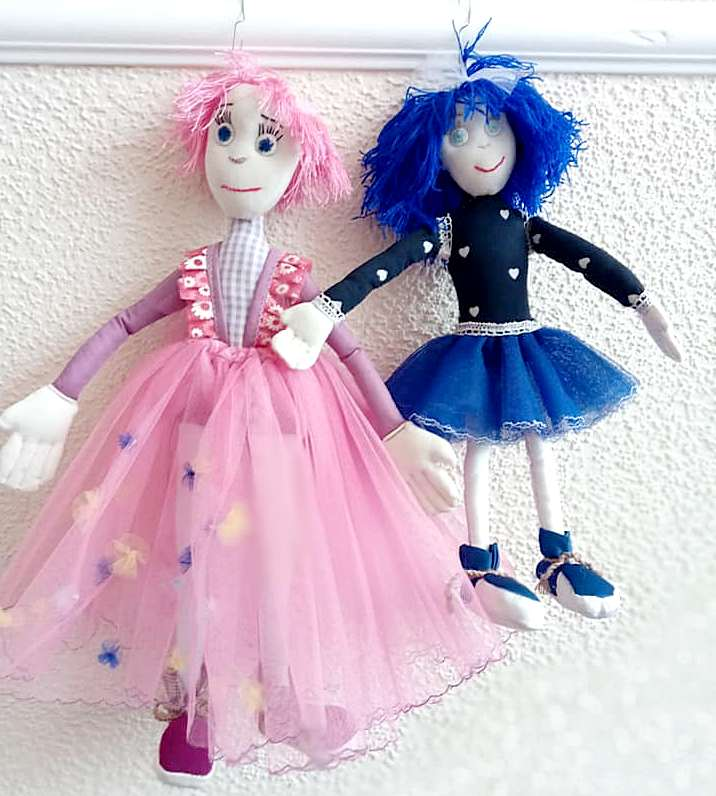 Благотворительная продажа кукол