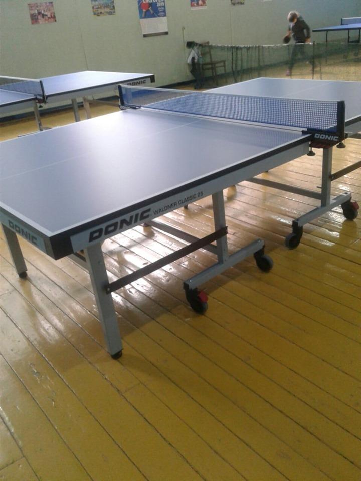 Новые профессиональные столы для настольного тенниса