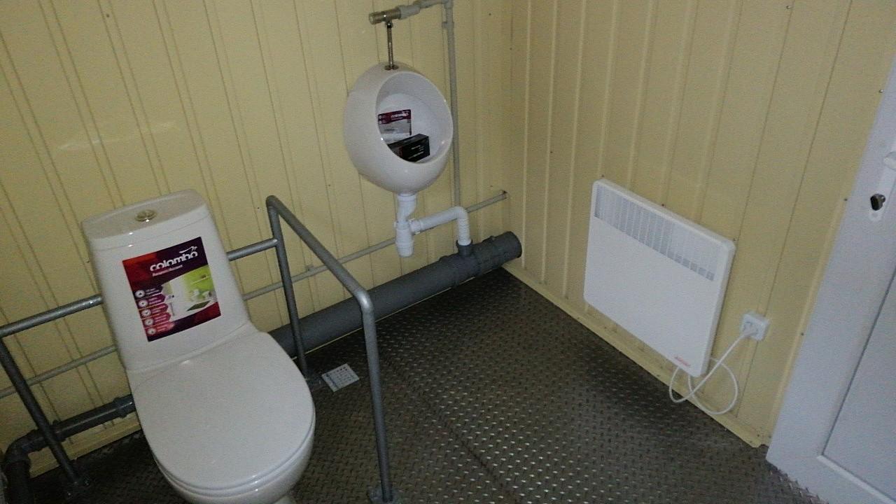 В Никополе появился общественный туалет