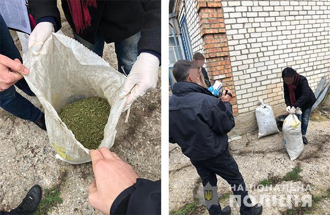 Мужчина хранил марихуану почти на 700 000 гривен
