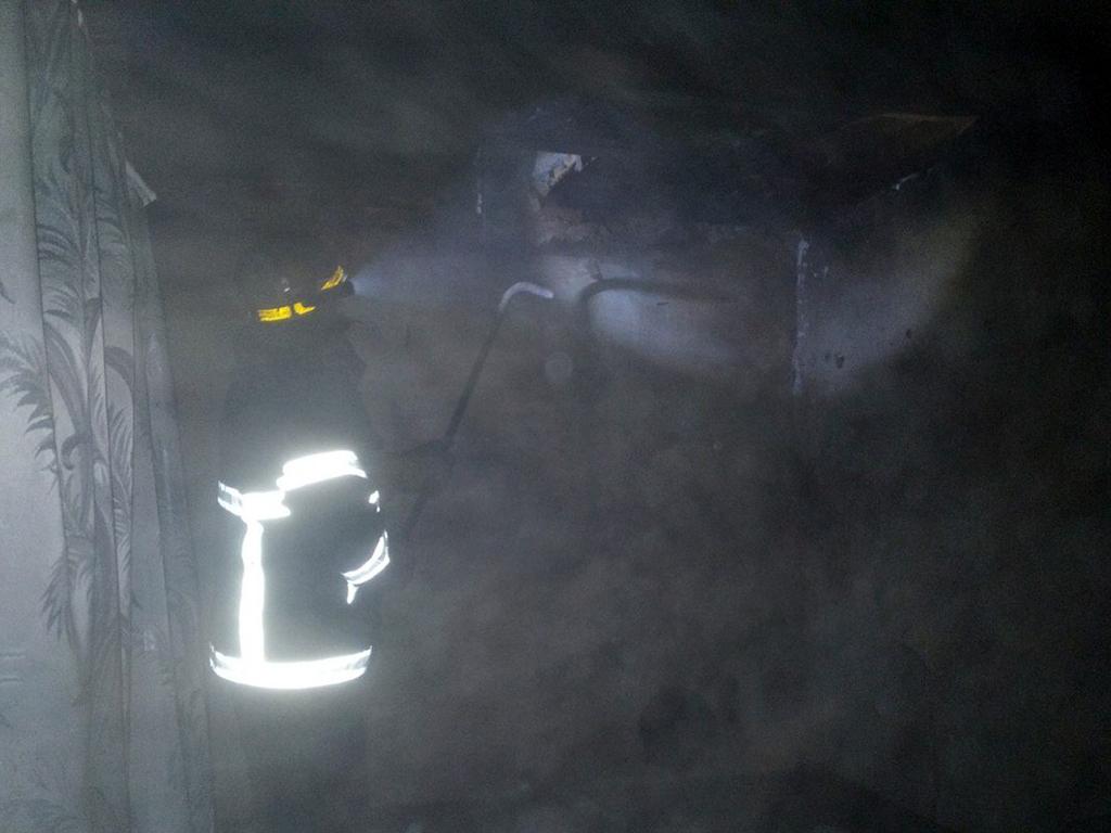 Возле Апостолово во время пожара пострадала 34-летняя женщина