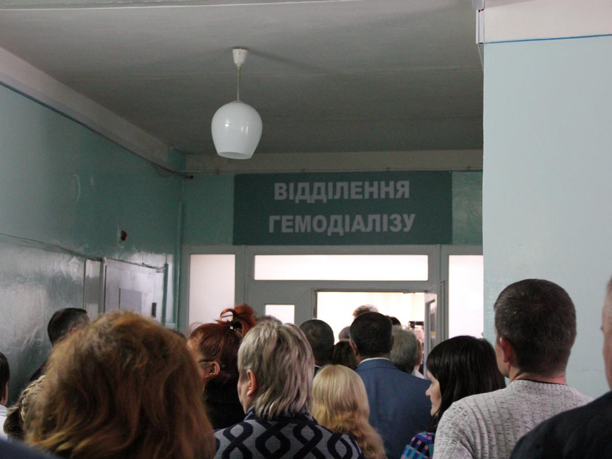 В Никополе открыли отделение гемодиализа